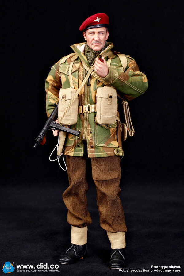 DID DRAGON IN DREAMS 1:6TH SCALE WW2 BRITISH 1ST AIRBORNE GREEN SMOCK FROM ROY