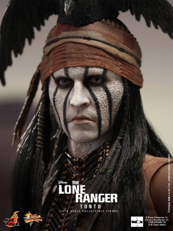Hot Toys MMS217 Tonto The Lone Ranger Johnny Depp 1:6 Scale Dagger w// Sheath