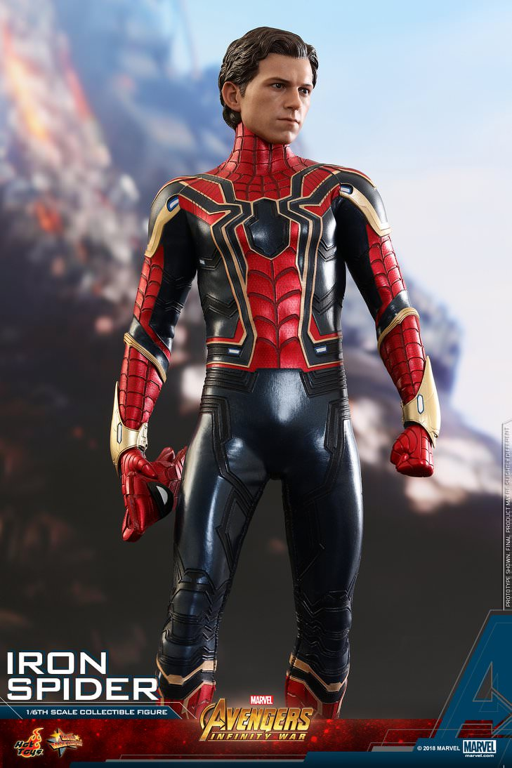 Hot Toys Spider-Man-Iron Spider Avengers: Infinity War MMS482